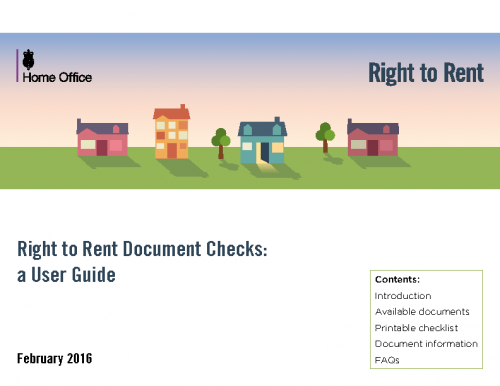 UK Home Office – Right to Rent Guide